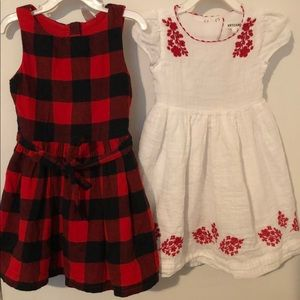 Bundle Carters/ ArtisanNY Girl Dresses